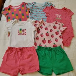 30 Piece Matching Baby Girl Bundle Childrens Place